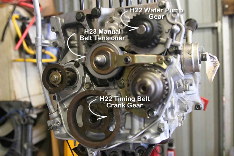 so my mechanic is saying something about an idler urgent help Timing Belt Diagram Honda V6 Timing Belt Replacement