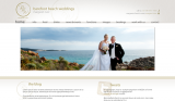 Barefoot Beach Weddings - Website Design