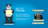 Save Our Panda - Website Design